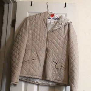 Jackets & Coats - Cream small weatherproof jacket